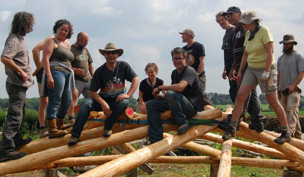 Course in Reciprocal Roundhouse Building