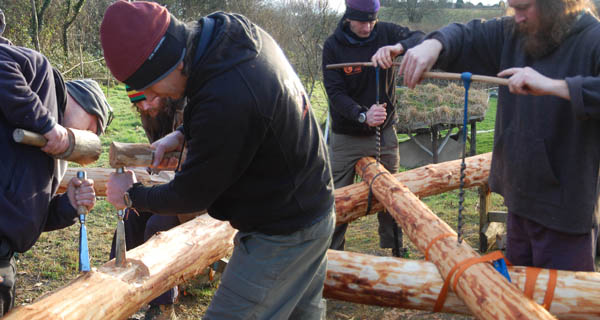 roundwood timber framing course