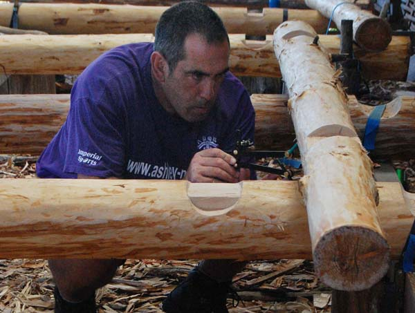 Roundwood Timber Frame Course