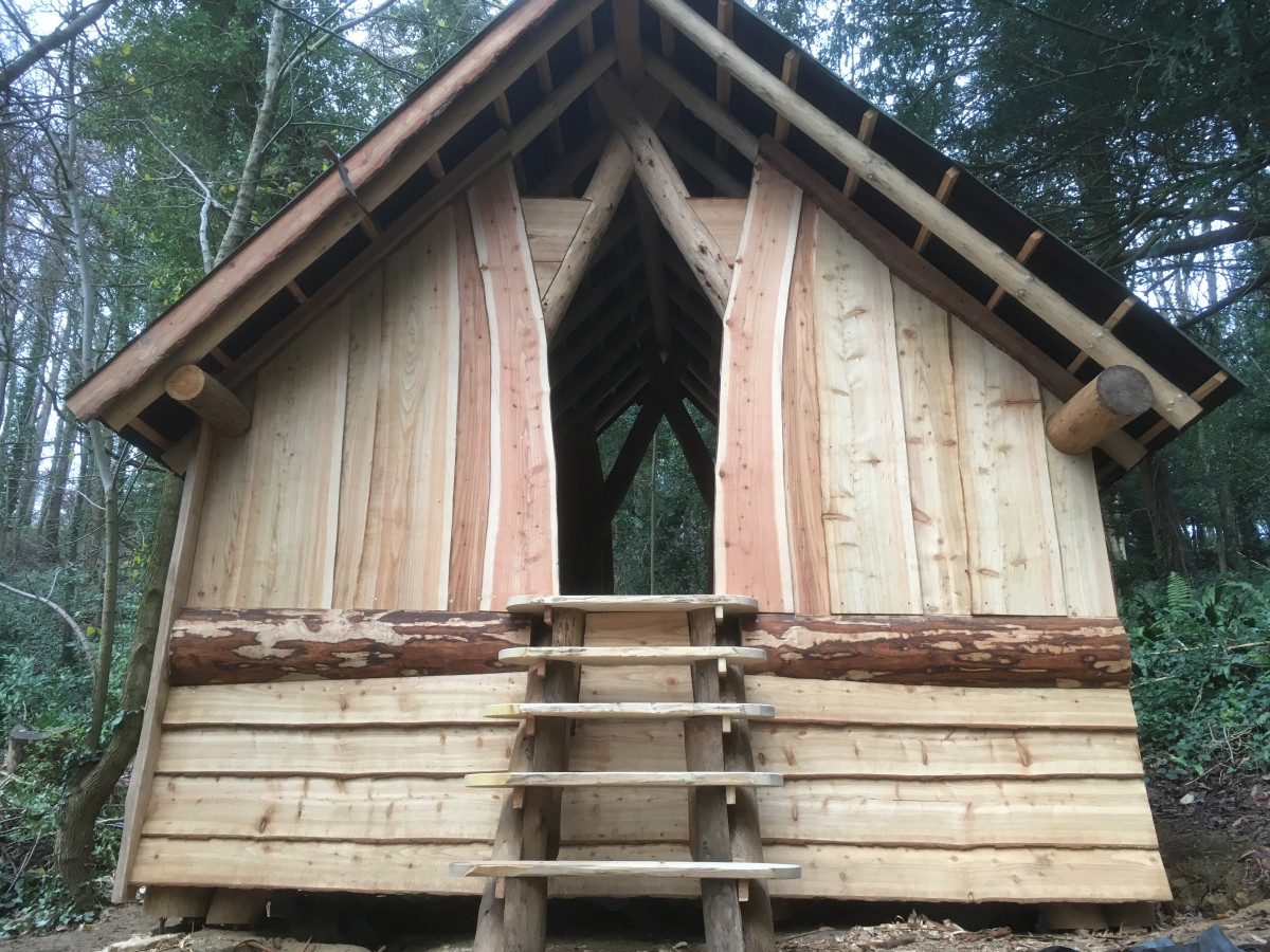 Cruck Frame Compost Loos